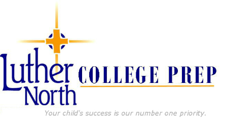 Luther North College Prep Logo